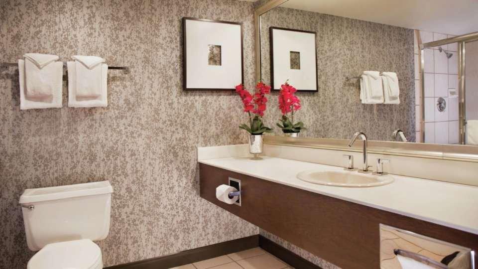 Excalibur Las Vegas Royal Superior King Room Bathroom