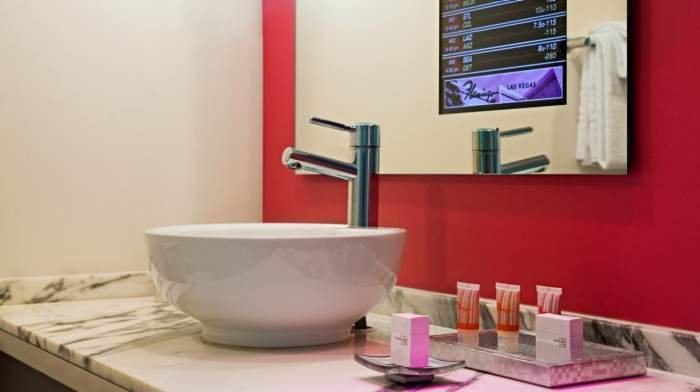 Flamingo Las Vegas Go Mini Suite Bathroom