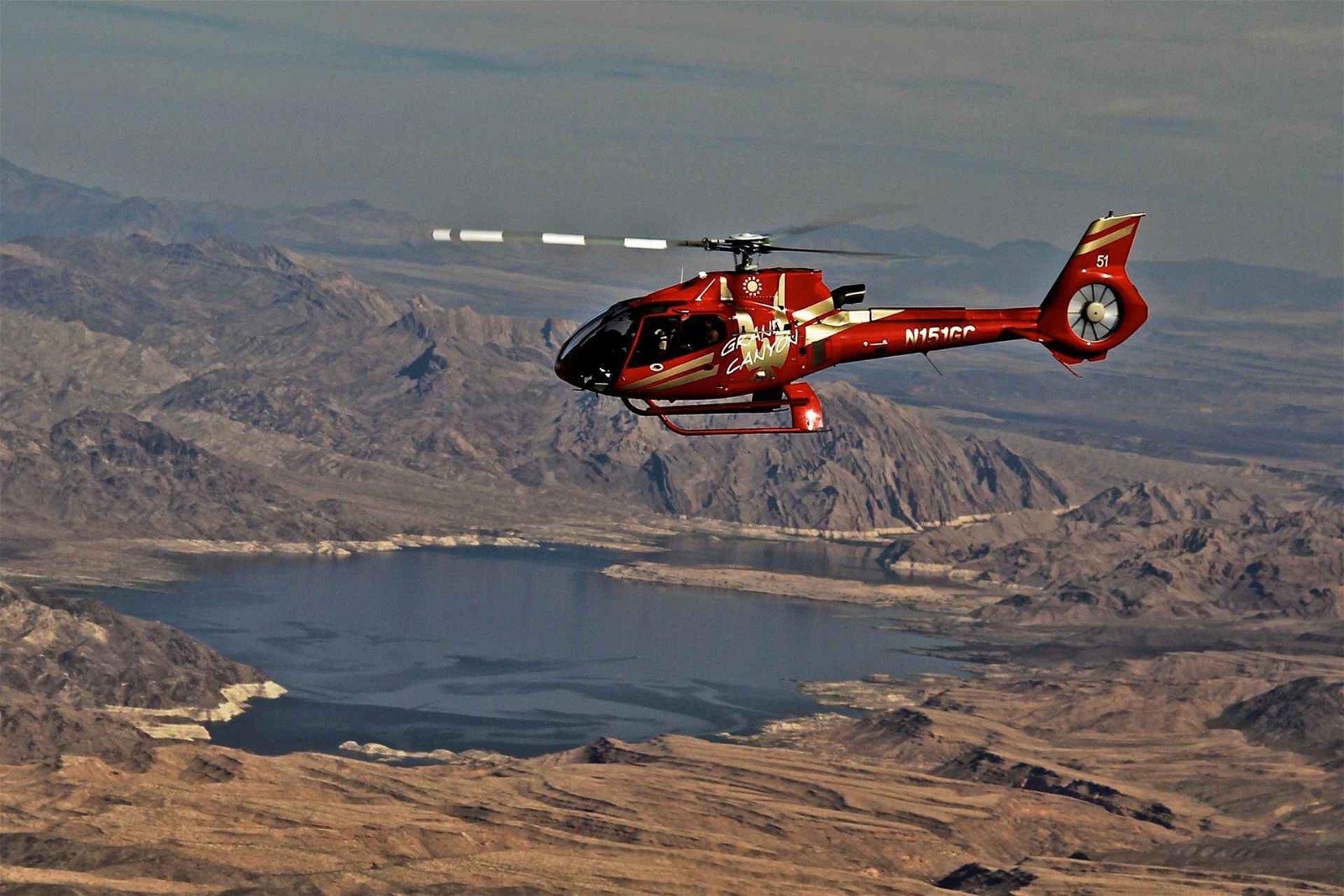 Golden Eagle Grand Canyon Helicopter Tour Las Vegas Strip
