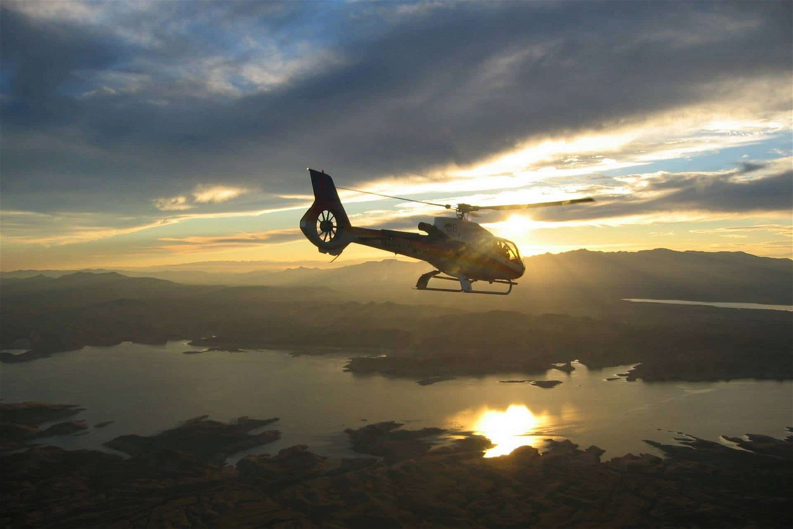 Grand Canyon Celebration Helicopter Sunset Tour