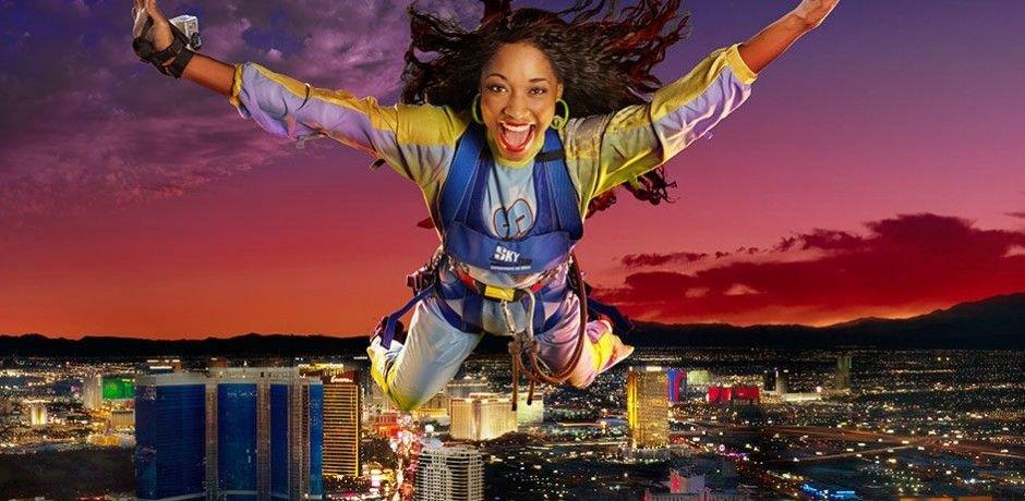 The Strat las vegas skyjump