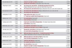 wsop 2015 schedule 1-4