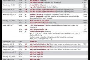 wsop 2015 schedule 3-4