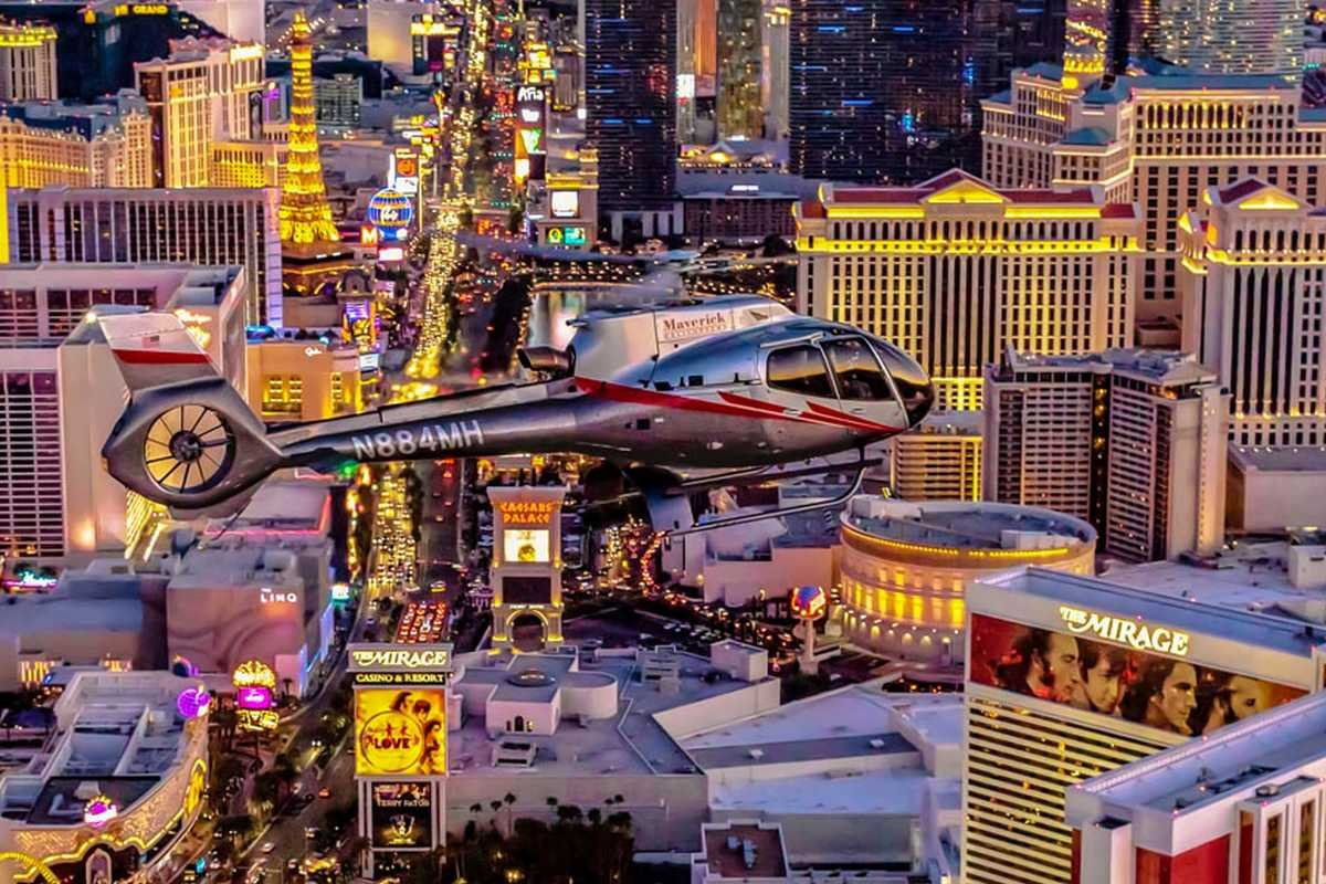 Vegas Nights Strip Helicopter Tour