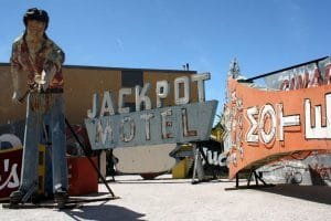 Neon Museum Las Vegas Jackpot Motel