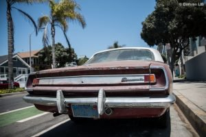 Vintage Car in Venice Beach California