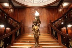 Titanic The Artifact Exhibition Luxor Las Vegas Grand Staircase