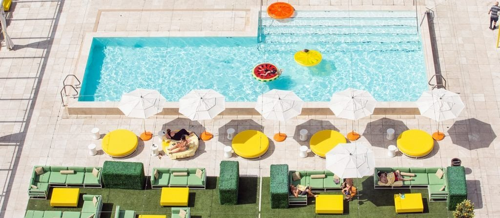 Downtown Grand Las Vegas Citrus Pool