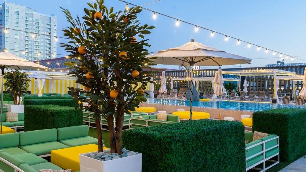 Downtown Grand Las Vegas Citrus Pool Deck
