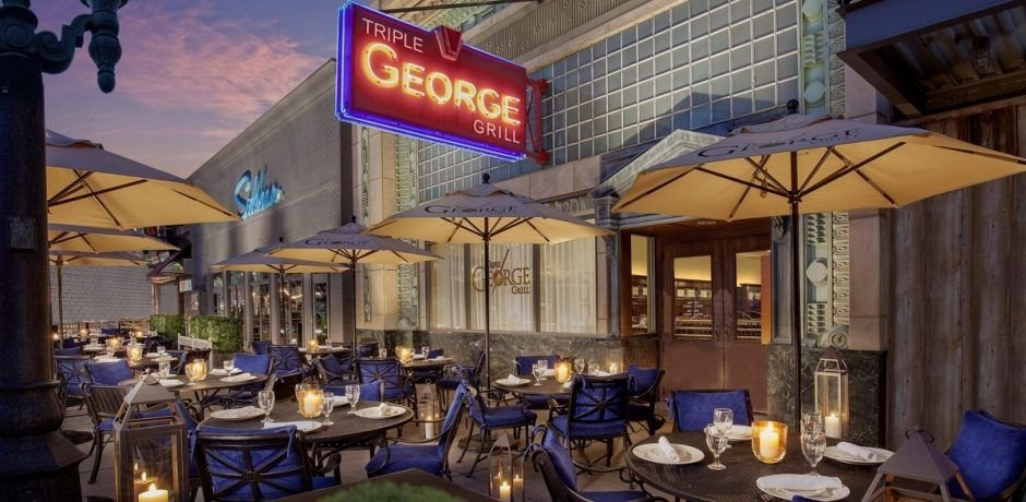 Downtown Grand Las Vegas Triple Georges Grill