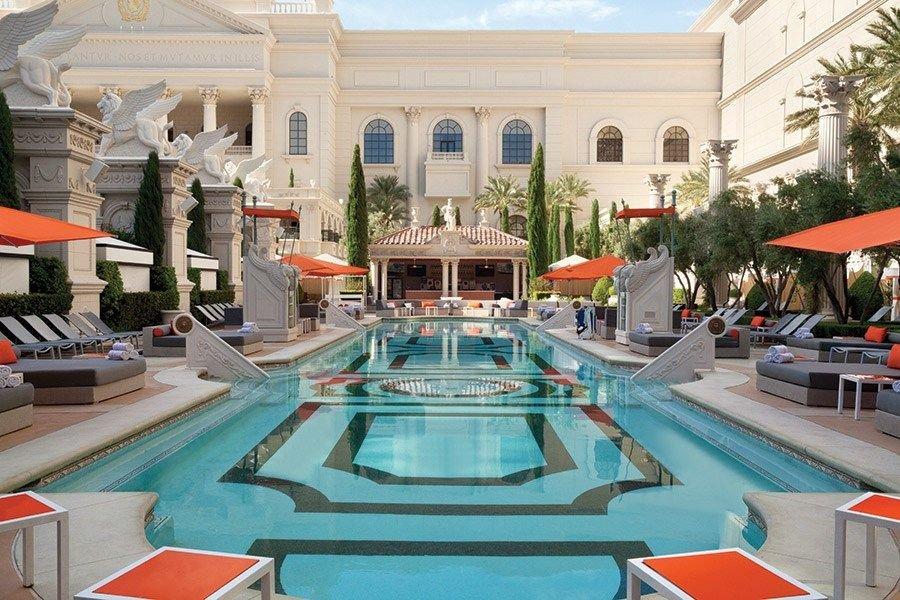 Caesars Palace Las Vegas Venus European Pool