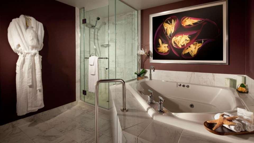 MGM Grand Las Vegas Tower Spa Suite Bathroom
