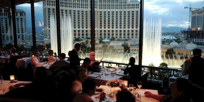 Paris Las Vegas Eiffel Tower Restaurant