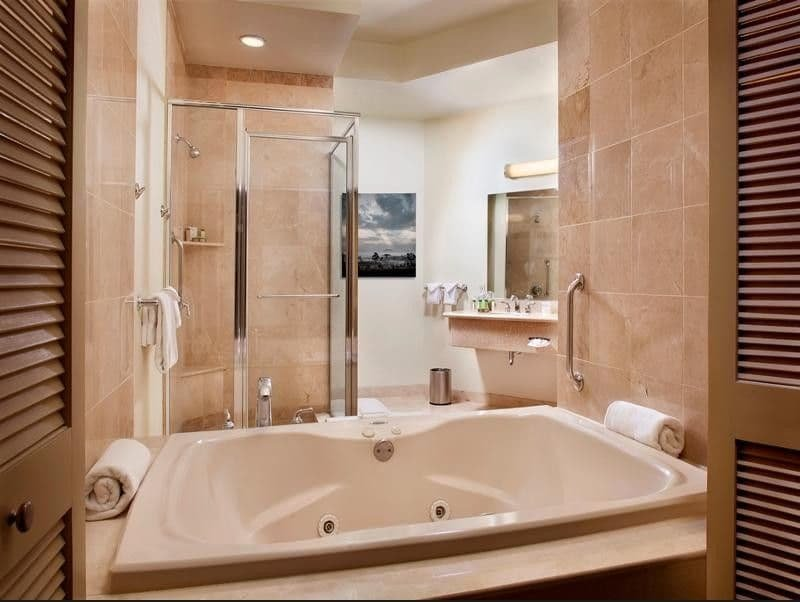 The Strat Las Vegas Tower Suite Bathroom