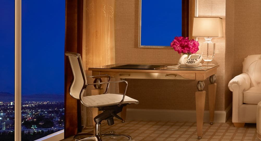 Wynn Las Vegas Deluxe Panoramic Room