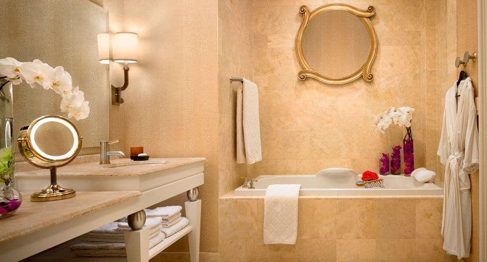 Wynn Las Vegas Executive Suite Bathroom
