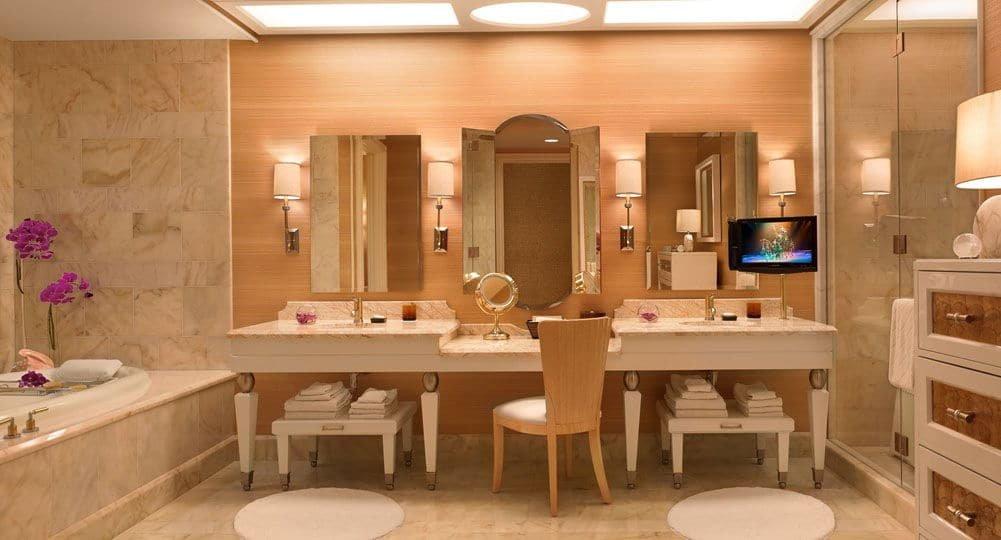 Wynn Las Vegas Salon Suite Bathroom