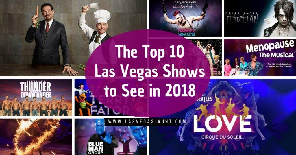 best 2018 las vegas shows
