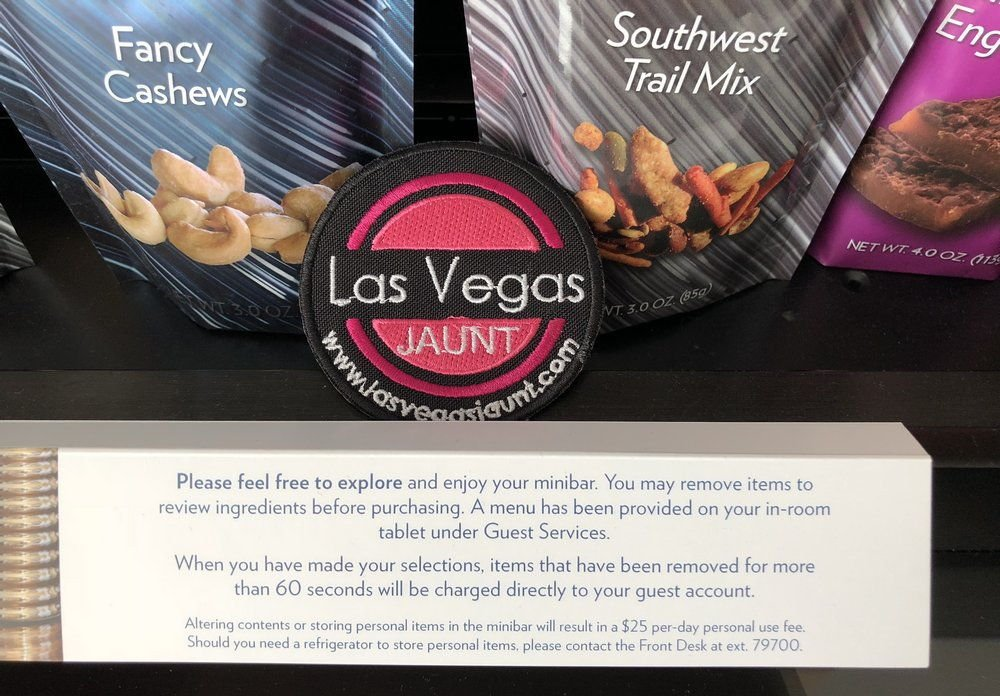 Aria Las Vegas Mini Bar