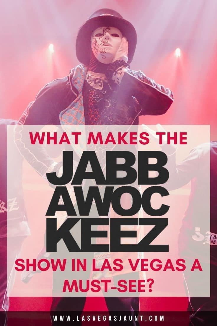 Jabbawockeez Las Vegas Discount Tickets