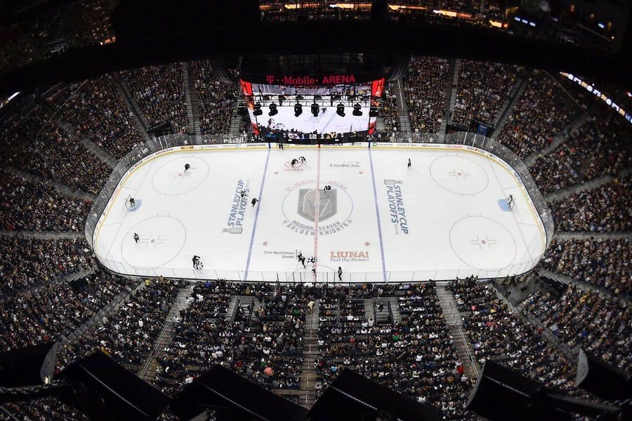 Las Vegas Golden Knights T Mobile Arena