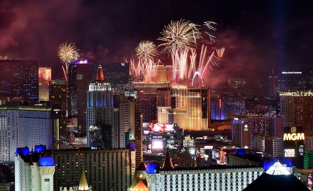 Las Vegas New Year's Eve Fireworks