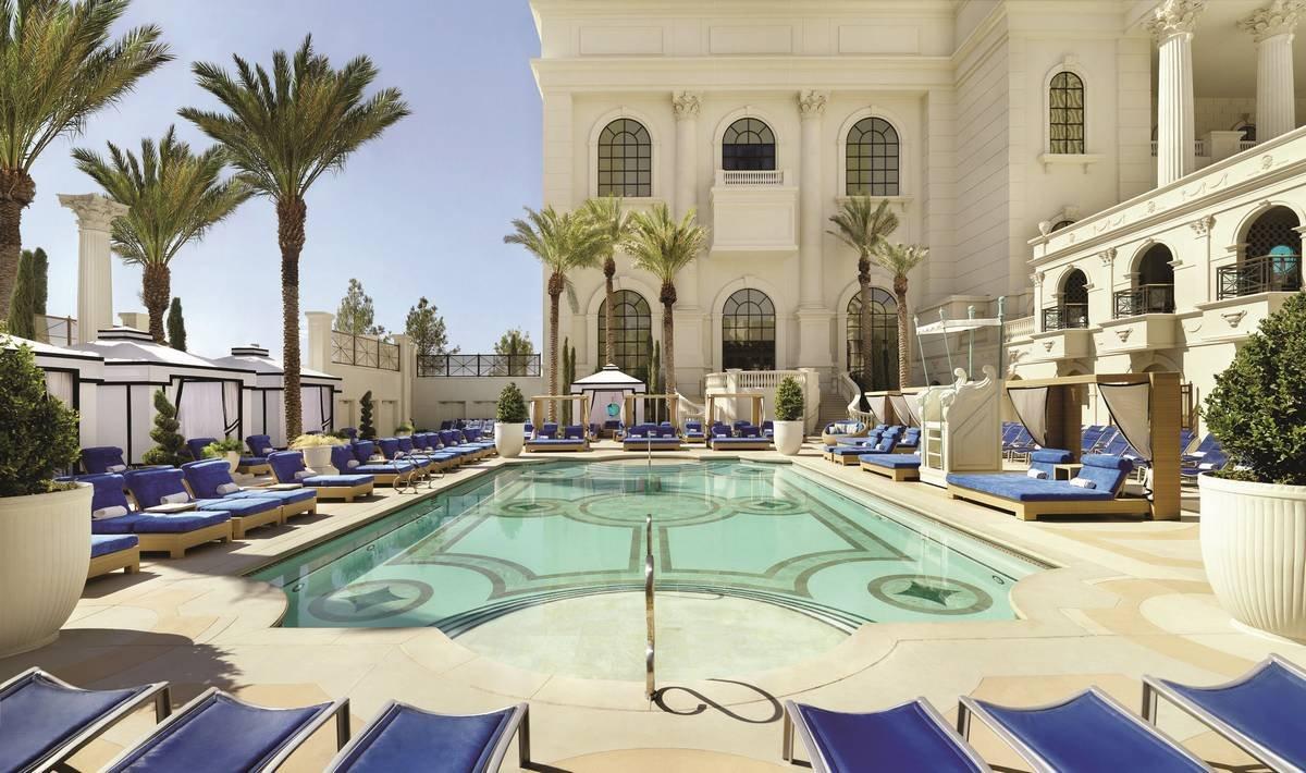 Caesars Palace Las Vegas Apollo Pool