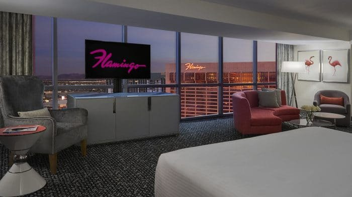 Flamingo Las Vegas Junior Suite