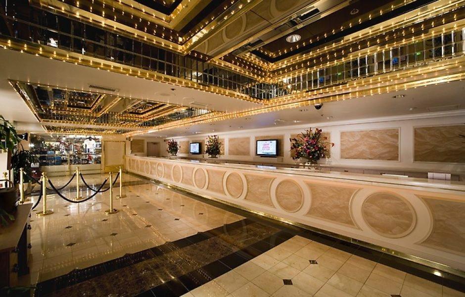 Four Queens Las Vegas Lobby