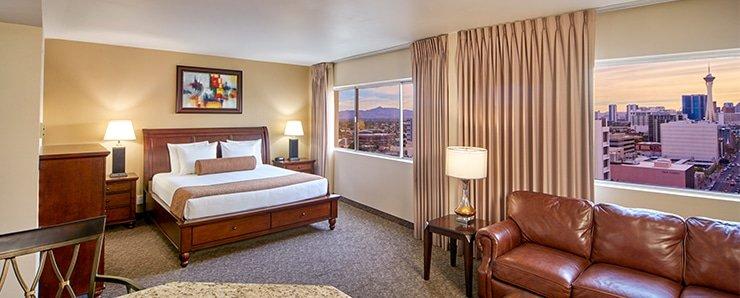 Four Queens Las Vegas Ragal Suite
