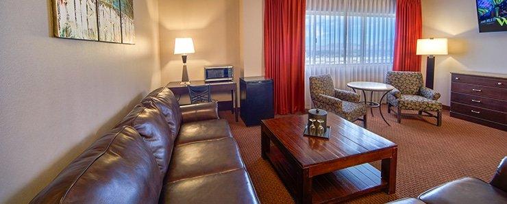 Four Queens Las Vegas Royal Suite Living Room