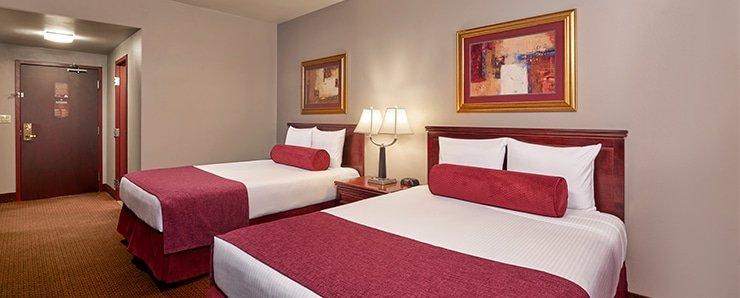 Four Queens Las Vegas South Tower Premium Room Two Queen