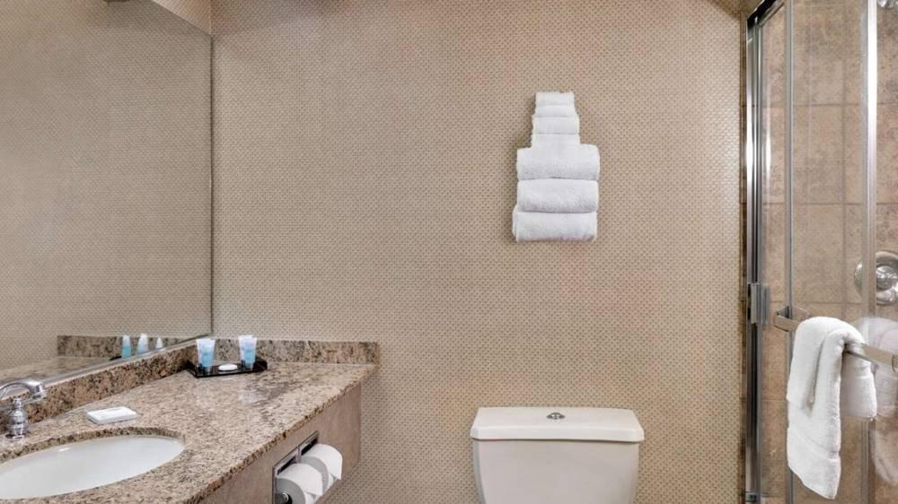 Luxor Las Vegas Pyramid Room Bathroom