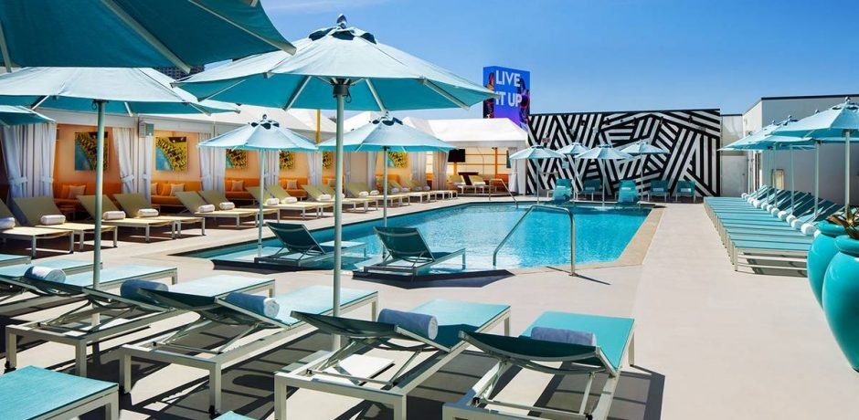 Sahara Las Vegas Alexandria Pool
