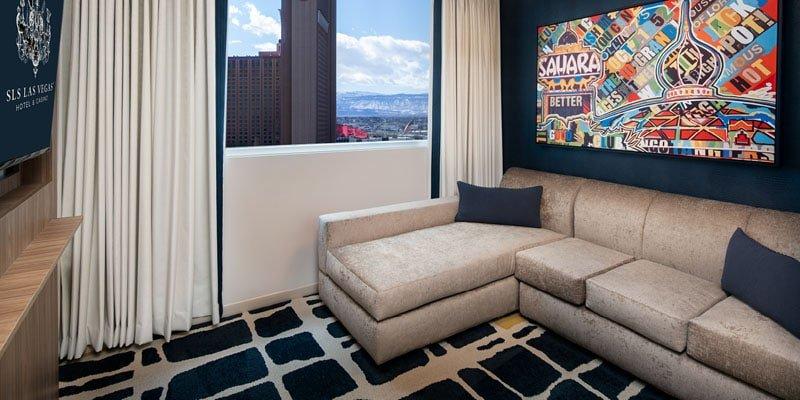 Sahara Las Vegas Blanca Junior Suite