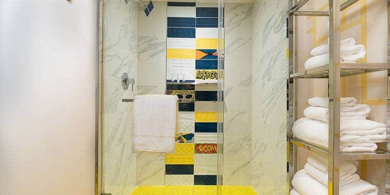Sahara Las Vegas Blanca King Bathroom
