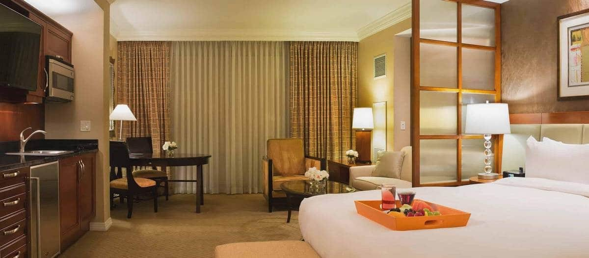 The Signature Las Vegas Deluxe Balcony Suite