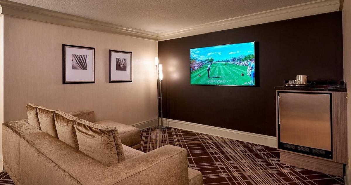 Treasure Island Las Vegas Executive Suite Living Room