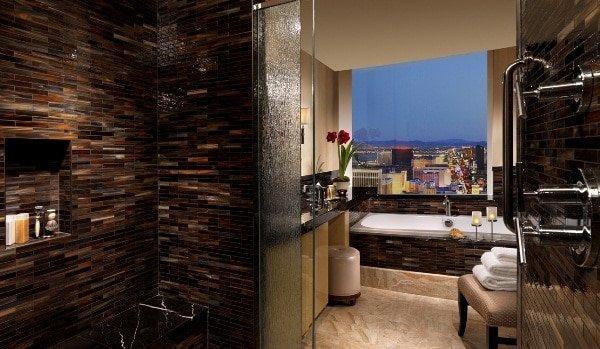 Trump Las Vegas Deluxe Penthouse Bathroom