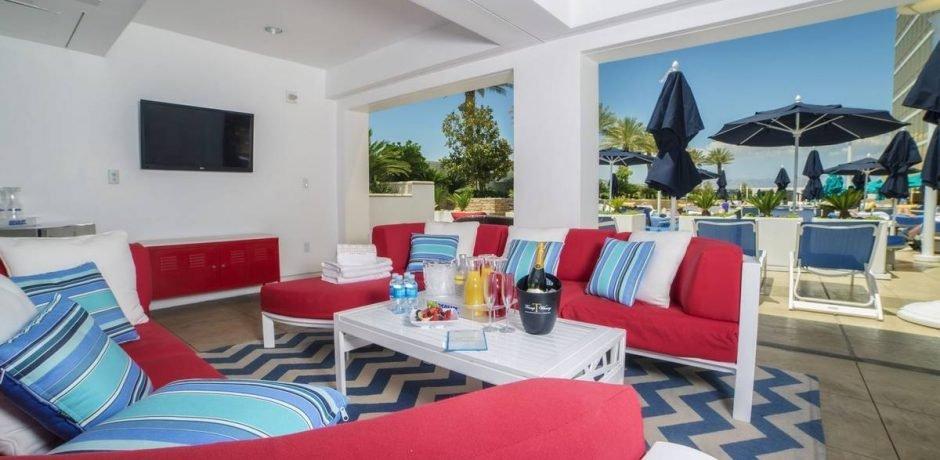 Trump Las Vegas Deluxe Pool Cabana