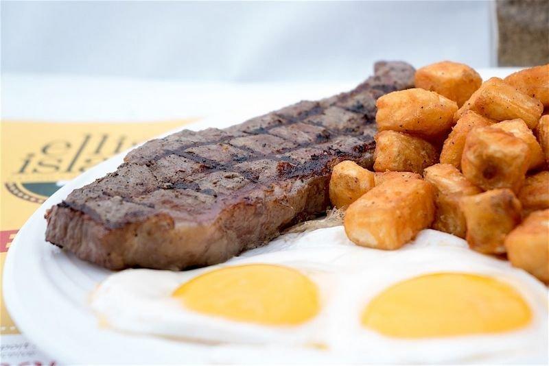 Ellis Island Las Vegas Steak and Eggs