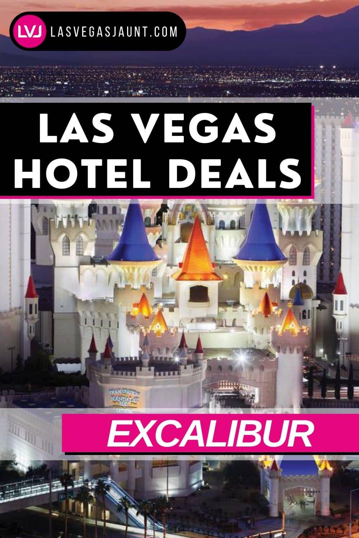 Excalibur Hotel Las Vegas Deals Promo Codes & Discounts