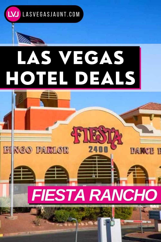Fiesta Rancho Hotel Las Vegas Deals Promo Codes & Discounts