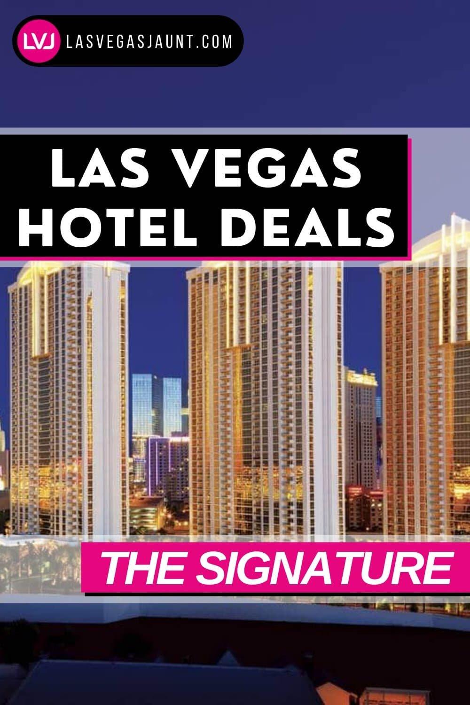 The Signature Hotel Las Vegas Deals Promo Codes & Discounts
