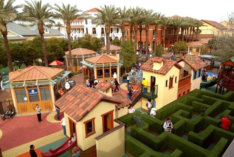 Children's Park & Playground at Town Square Shopping Mall Las Vegas