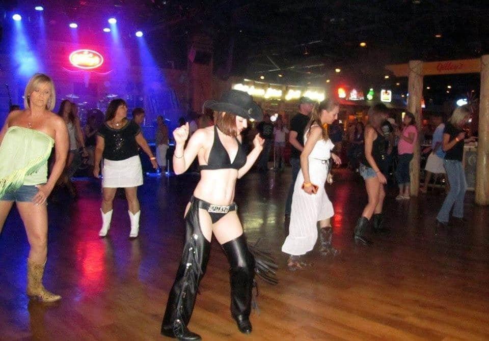 Line Dancing Lessons at Gilley's Las Vegas