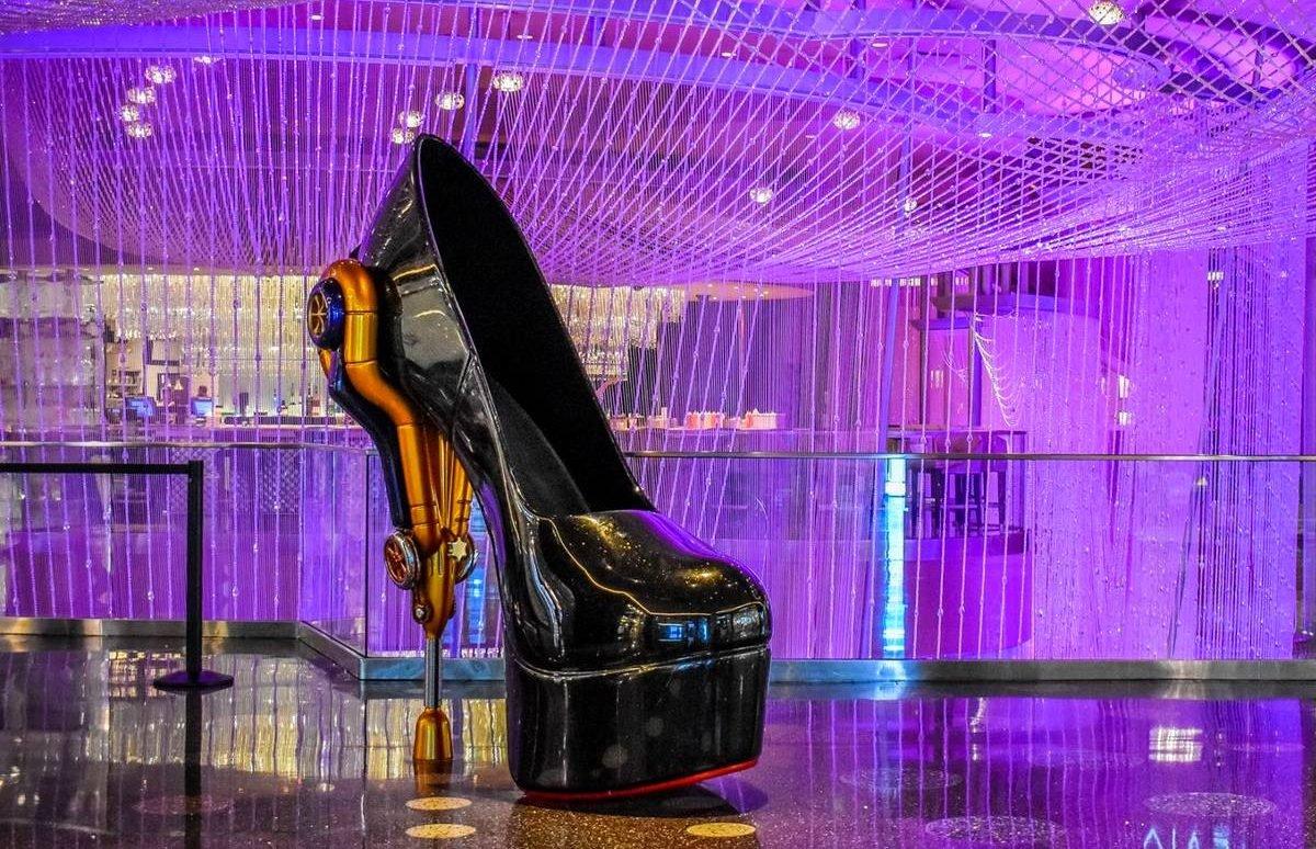 The Cosmopolitan of Las Vegas Giant Shoe