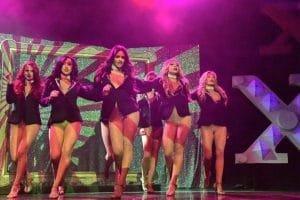 X Burlesque Show Las Vegas