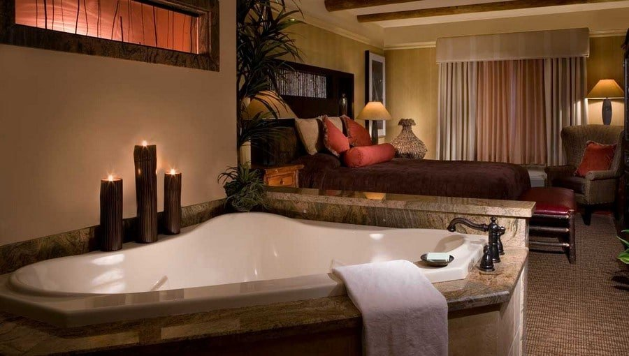 Silverton Hotel Las Vegas Luxury Suite Hot Tub