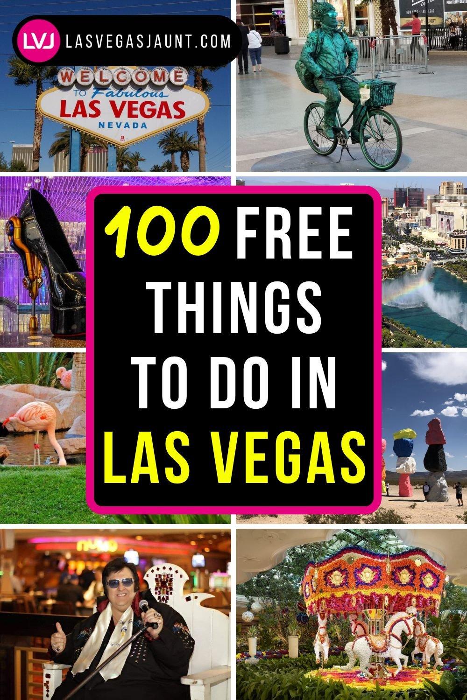100 Free Things To Do In Las Vegas